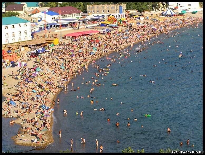 Фото и видео поселка Новомихайловский - пляж