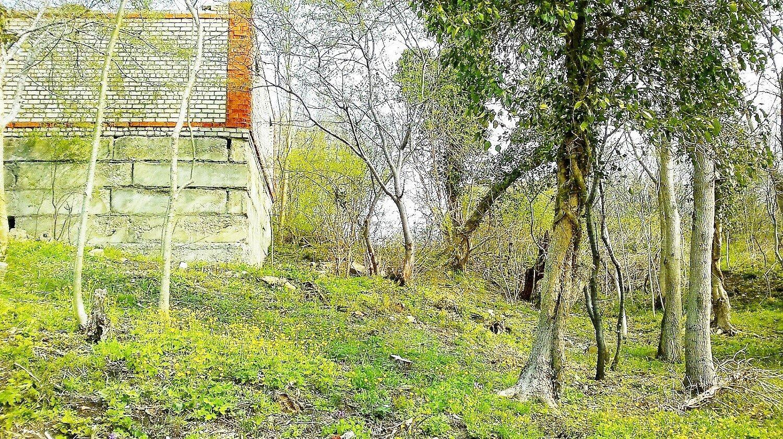 Участок 6 соток не достроенный дом 10х6 Лермонтово